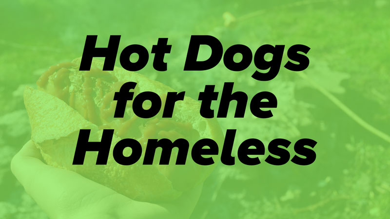 hot dogs homeless serve week elk river mn